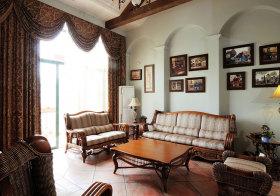 美式复古客厅美图