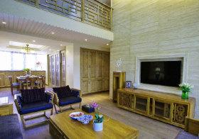 中式复古客厅实景拍摄