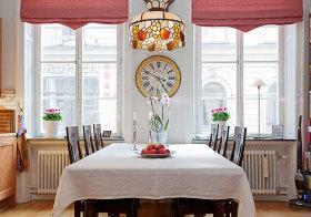 欧式复古餐厅细节展示