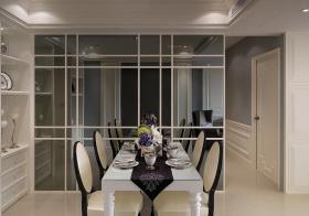 现代欧式餐厅细节展示