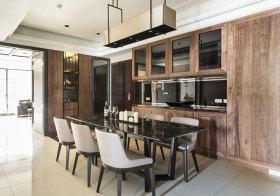 混搭原木餐厅设计欣赏