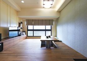 混搭客厅伸缩榻榻米欣赏
