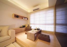混搭客厅榻榻米设计