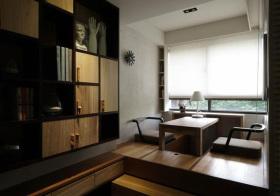 新中式木板榻榻米设计