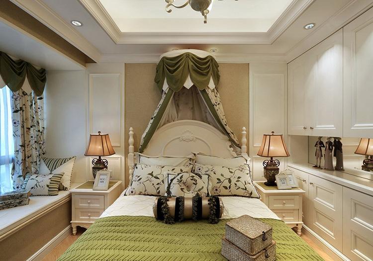 欧式公主房卧室欣赏