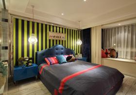 美式混搭卧室设计