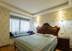 美式复古碎花卧室欣赏
