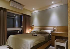 宜家原木卧室设计