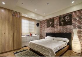 轻工业红砖卧室欣赏