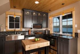 美式复古厨房设计