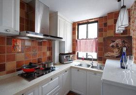 中式公寓厨房实景