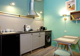 轻工业精简厨房设计