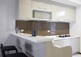 现代简洁厨房设计