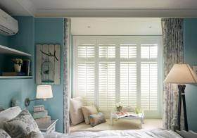 美式卧室飘窗细节