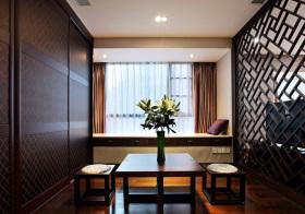 新中式木质飘窗设计