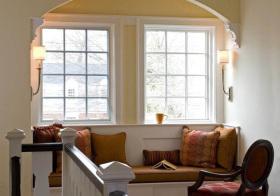 美式拱形飘窗欣赏