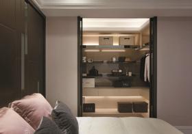 现代卧室衣帽间设计