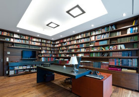 混搭大书房设计欣赏
