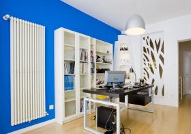 现代不规则创意书房设计