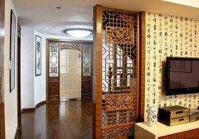 中式镂空雕刻隔断欣赏