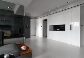 现代黑白玄关设计