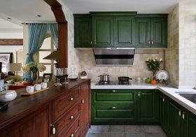 东南亚彩色厨房美图