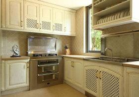 美式方形厨房欣赏