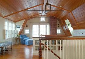 美式木质阁楼设计