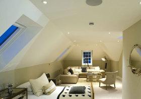 欧式小居室阁楼设计