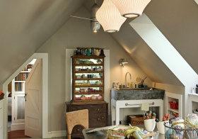 美式小居室阁楼设计