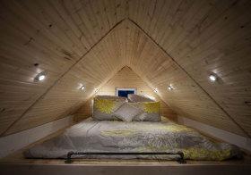 日系原木阁楼设计欣赏