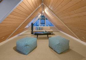 美式传统原木阁楼欣赏