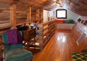 美式复古木质阁楼欣赏