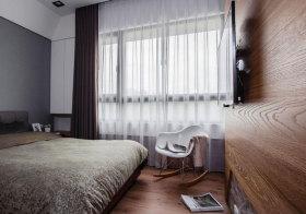 现代纱帘窗帘设计