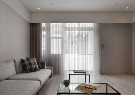 简约纱帘窗帘设计