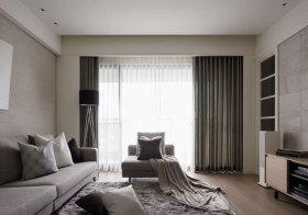 混搭布艺窗帘设计