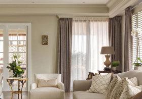 欧式复古窗帘细节