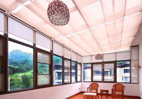 中式布艺吊顶设计