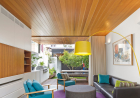 东南亚木板吊顶美图