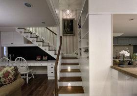 美式撞色楼梯欣赏
