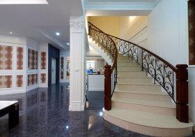 美式铁艺楼梯设计