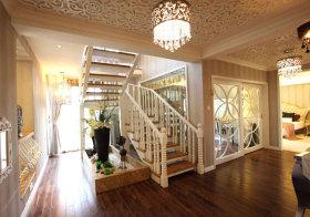 欧式奢华木质楼梯欣赏