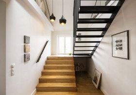 北欧木质楼梯美图