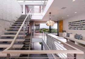 美式奢华楼梯美图