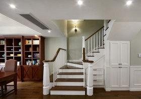 美式不规则楼梯设计