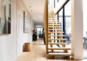 日系木质楼梯设计