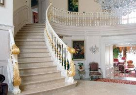 欧式奢华大理石楼梯欣赏