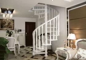 欧式旋转小楼梯设计