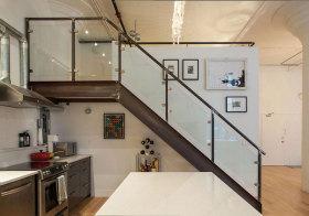 轻工业复古楼梯美图