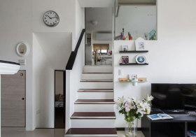 混搭错层楼梯欣赏